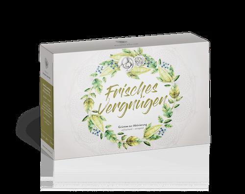 Sonnhof Ayurveda Tee Frisches Vergnügen - Kräuterteemischung